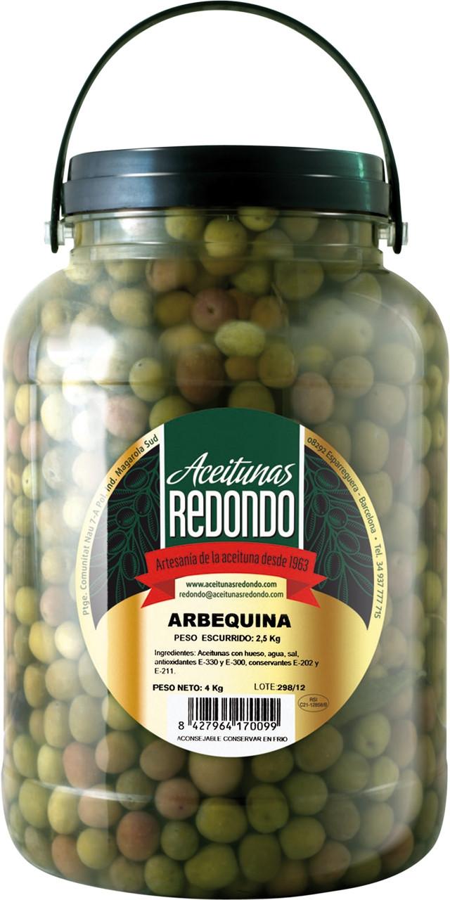 Oliva arbequina Redondo