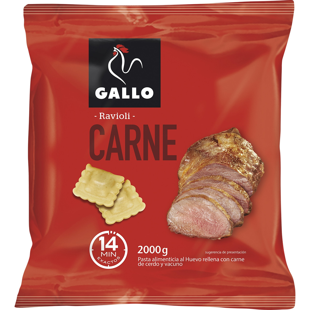 Ravioli carn Gallo