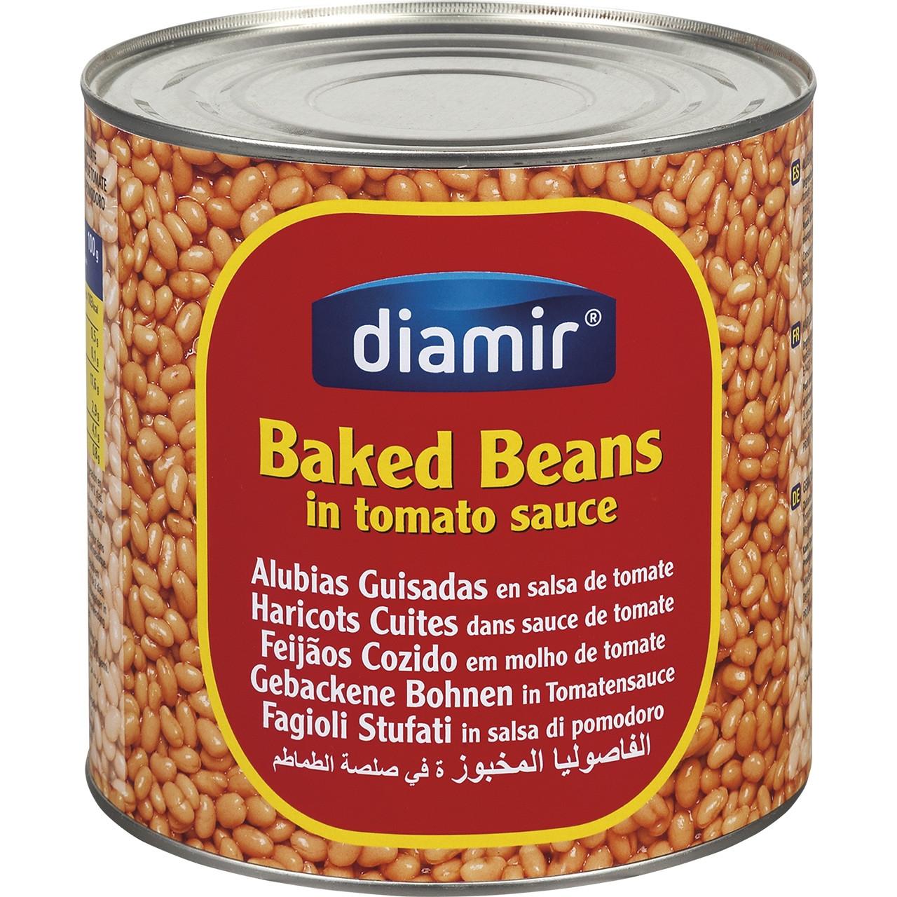 Mongetes amb tomaquet beans diamir 3kg
