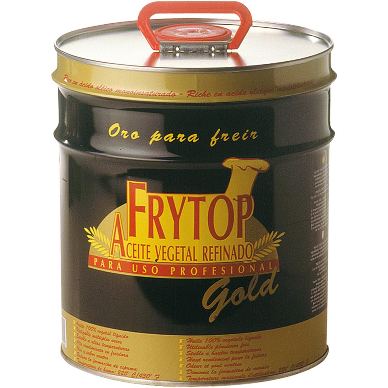 Frytop gold oli fregir