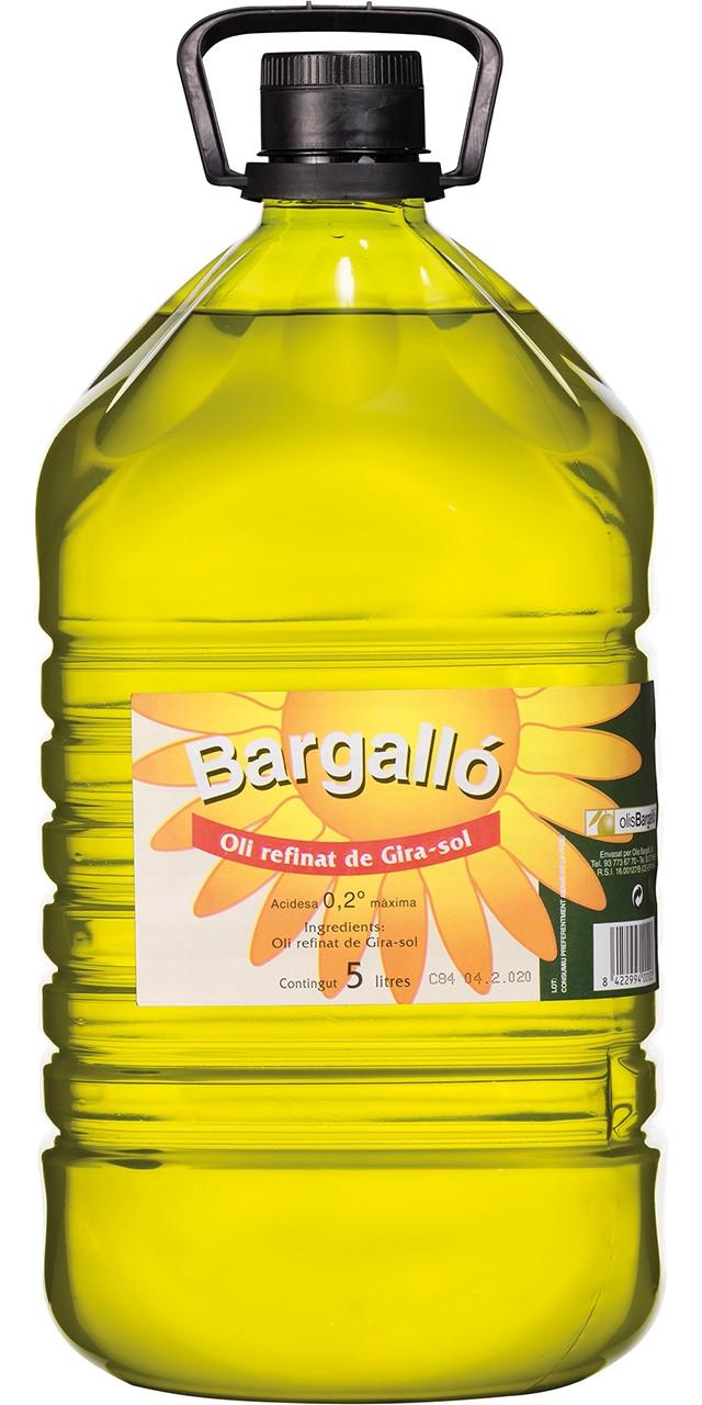Oli refinat gira-sol Bargalló
