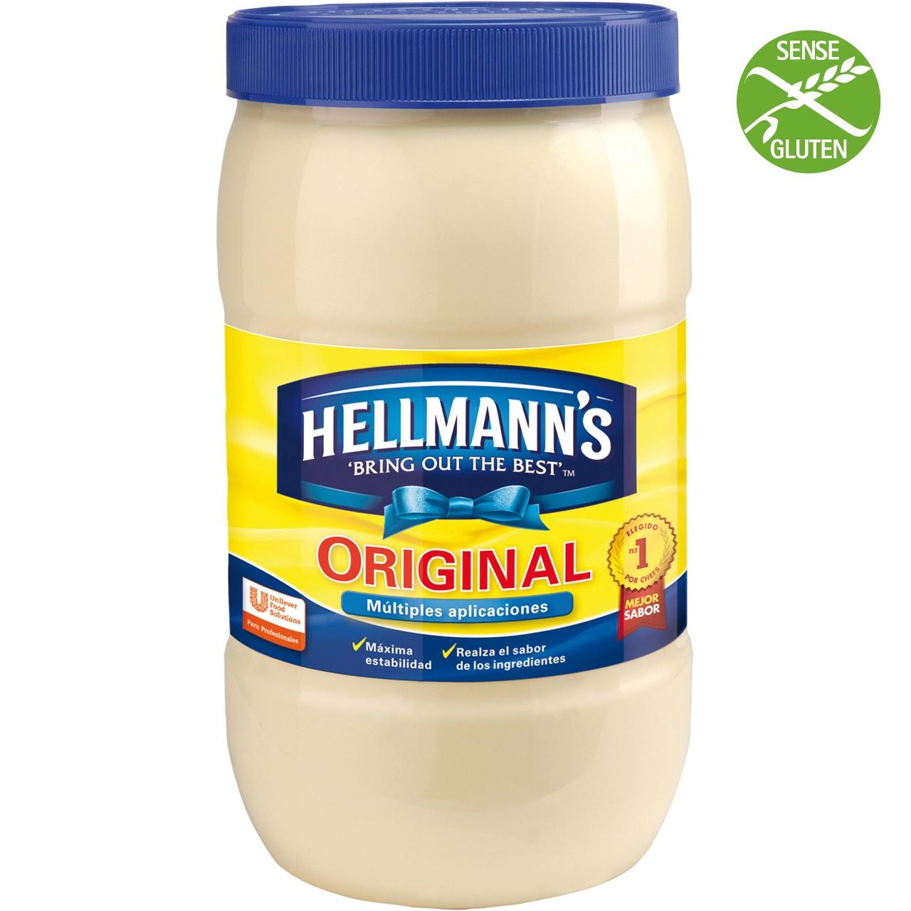 Maionesa Hellmann's pot