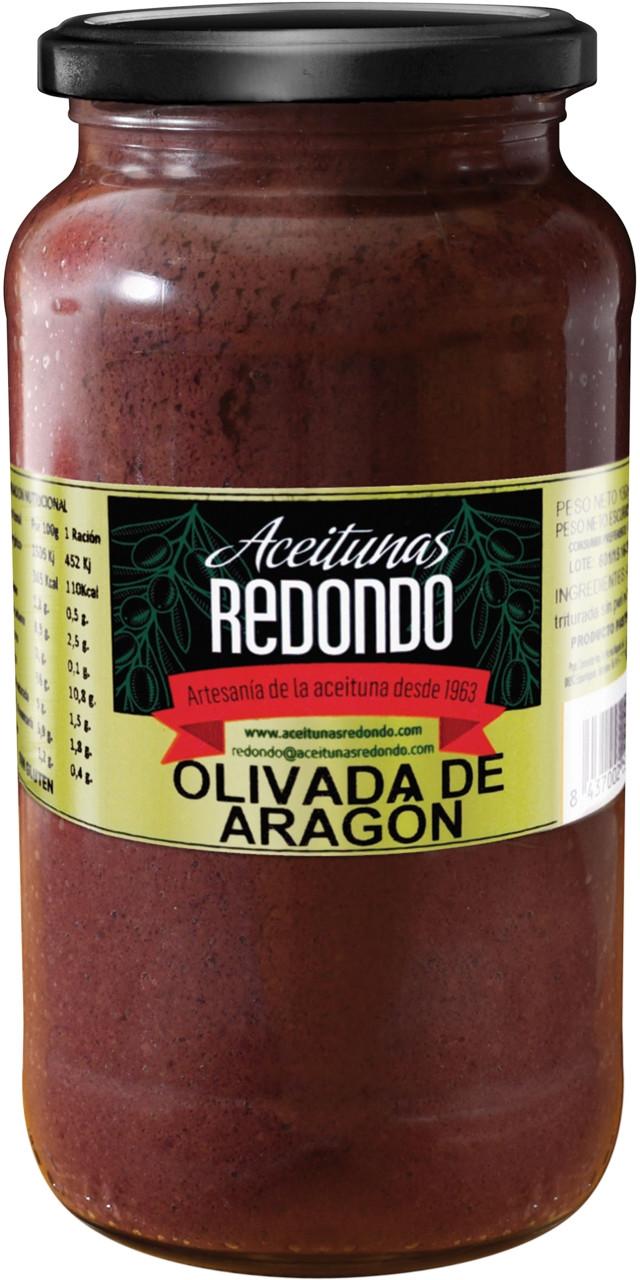 Olivada negra d'aragó Redondo