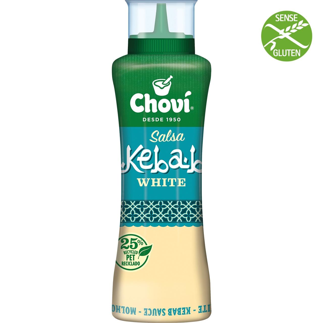 Salsa kebab blanca suau Chovi