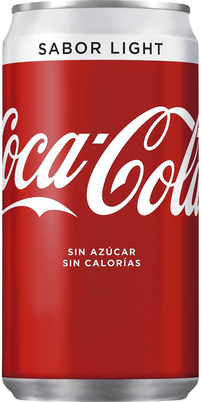 Llauna coca cola light 24u