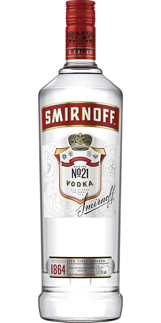 Smirnoff red vodka 1 l (i)
