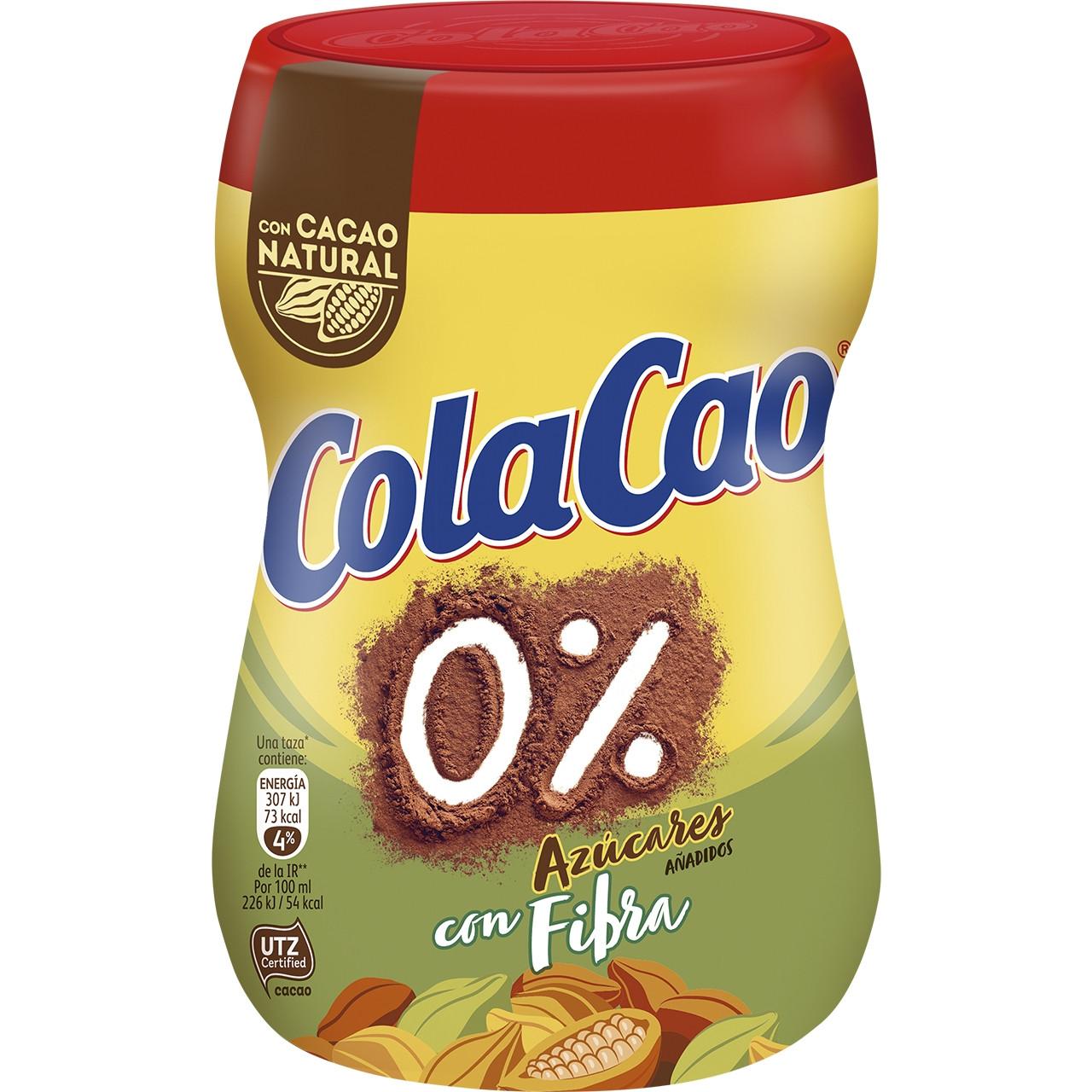 Cola cao 0% +fibra -300gr