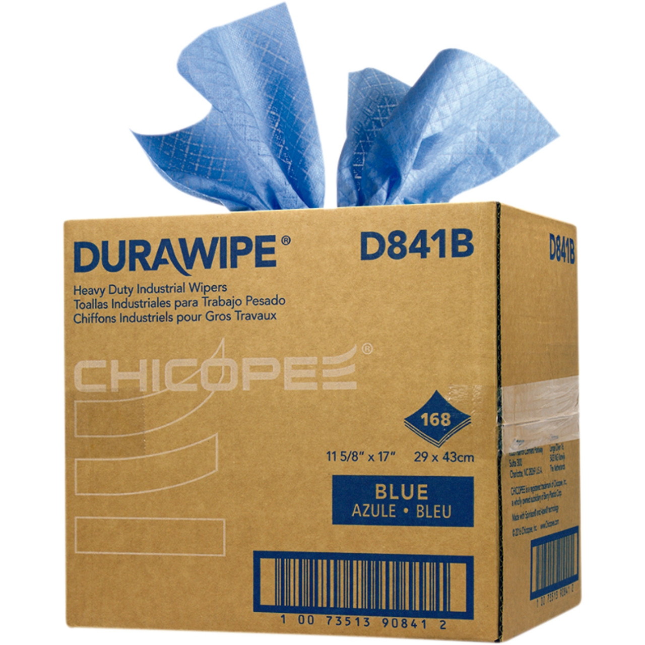 Chicopee durawipe plus blau 1c. 29 x 43 cm